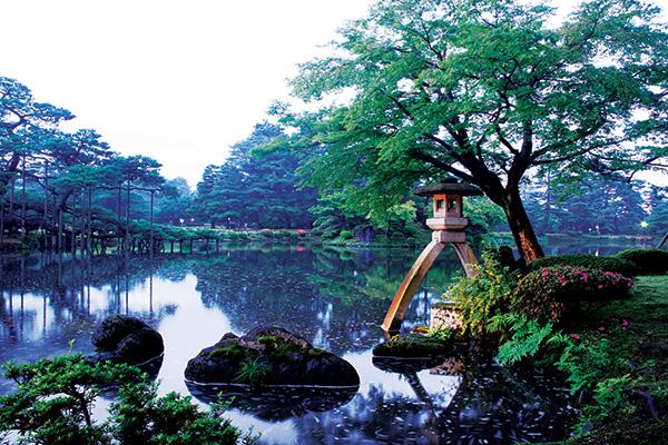 Jardín Kenroku-en, Kanazawa