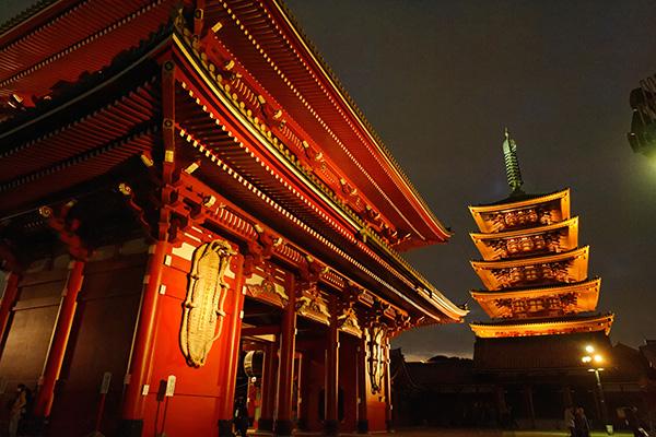 Templo Asakusa Kannon, Tokio