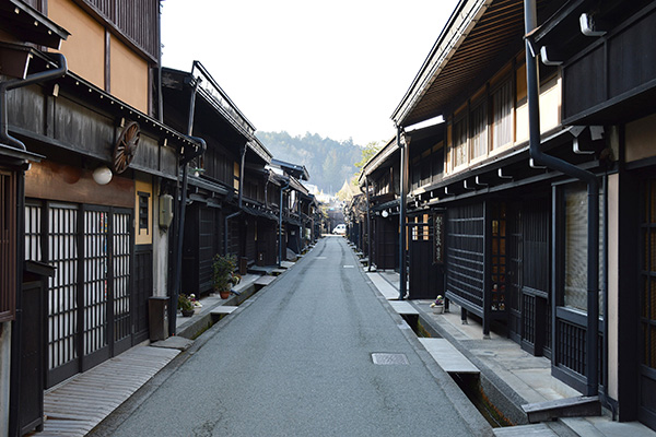 Takayama, calle Kamisannomachi