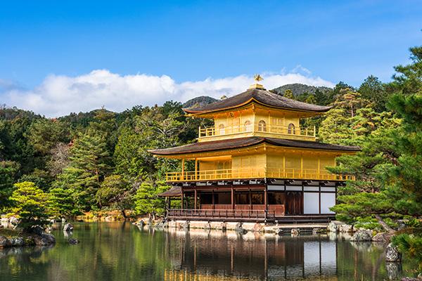 Templo Kinkakuji (Pabellón Dorado), Kioto